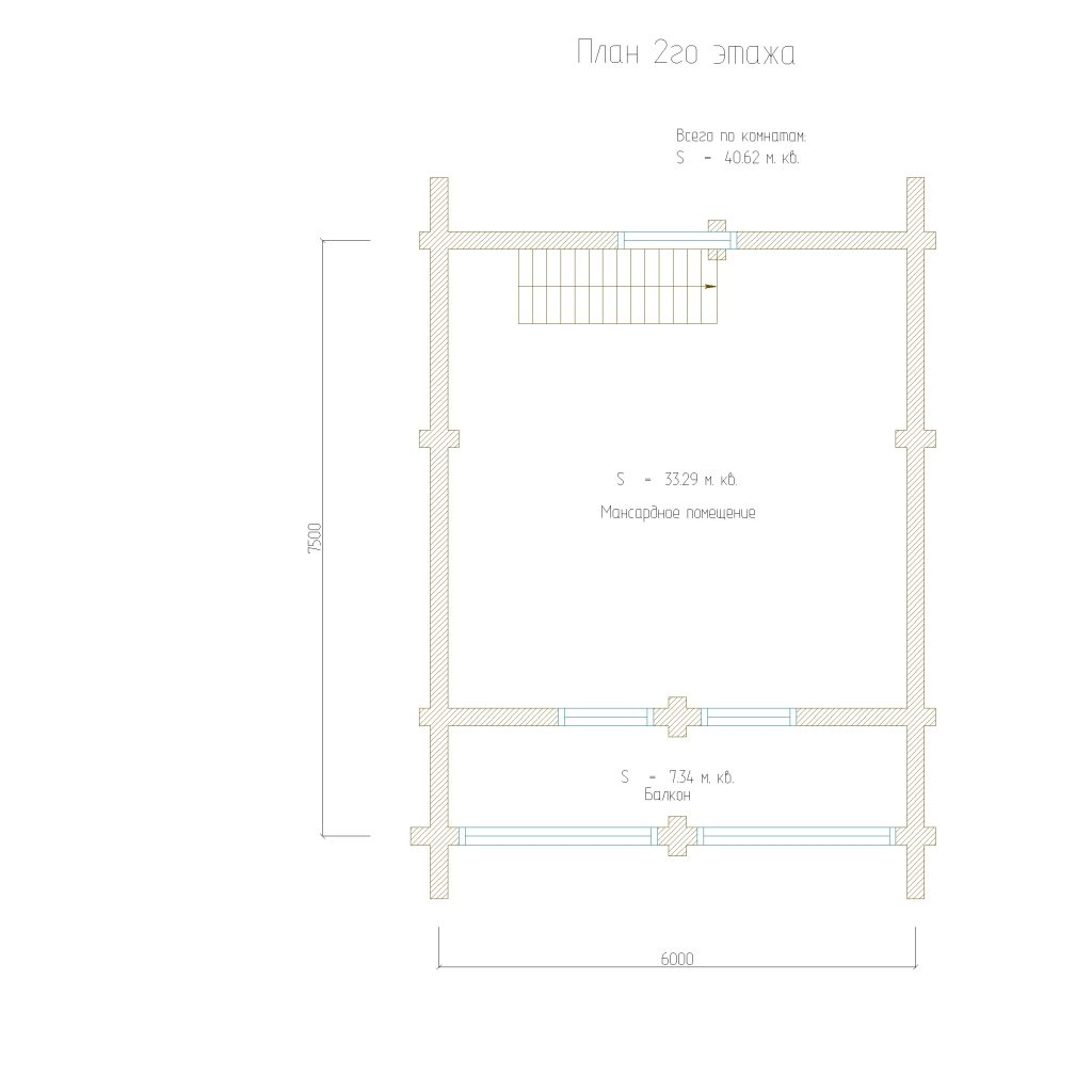 проект 110 план 2го этажа