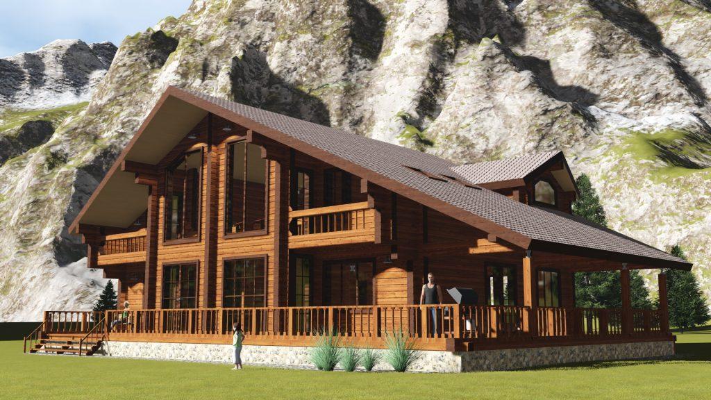 Проектирование деревянных домов оцилиндрованное бревно бревно брус