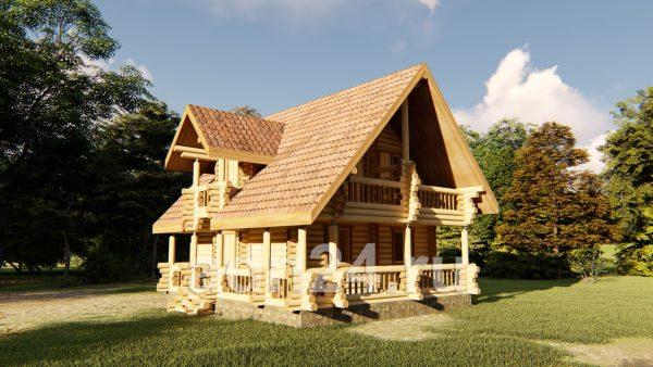 Проект дома 110м2 сказка